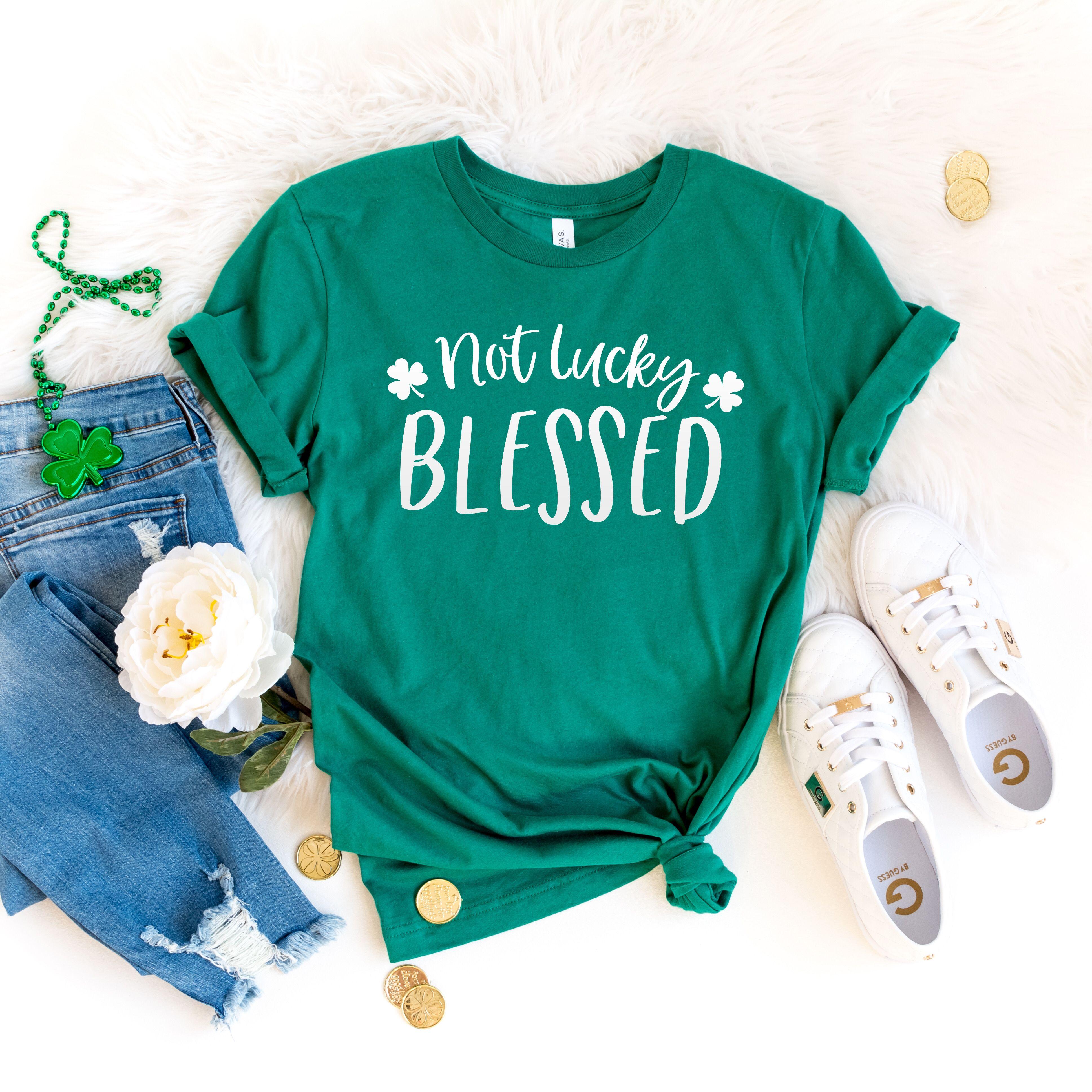 Patty/'s Day Shirts for Men and Women St Patty/'s Lucky Shirt Shamrock Shirt Lucky Shirt Irish Shirt St St Patty/'s Lucky Women Shirt