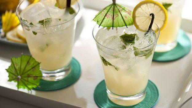 Limonada tóxica. | 10 bebidas muito refrescantes para testar neste calor