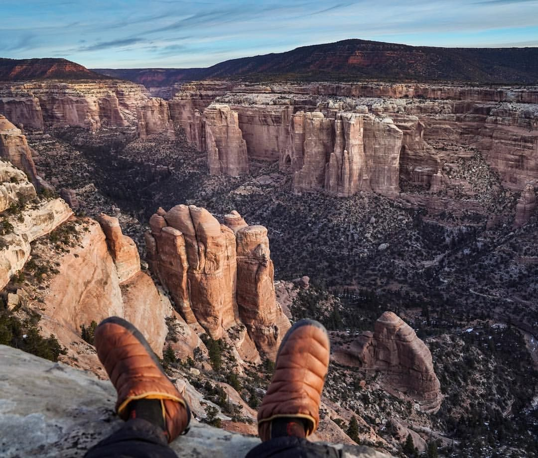 Photo By Renan Ozturk Sitting On The Edge Overlooking A Remote Canyon Which Was Formerly Bears Ears N National Geographic Travel National Monuments Bear Ears