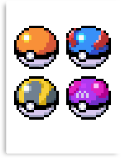 Pokeball Pixel Pokeball Pixel Art By N1n10d0pe Peler Beeds