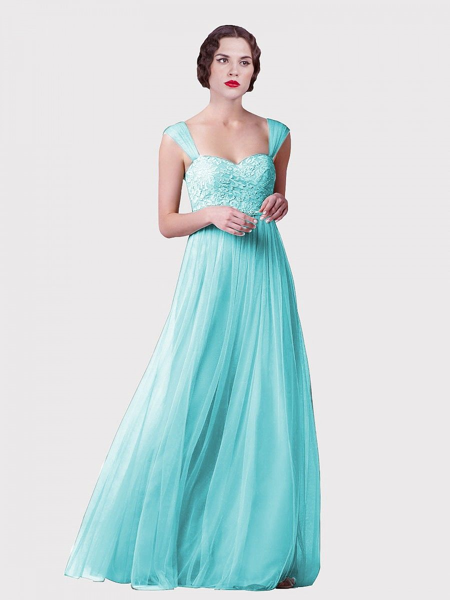 Tulle and Lace Convertible Dress Plus and Petite sizes