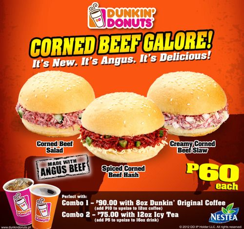 Dunkin' Menu in the Philippines (With images) | Spiced ...