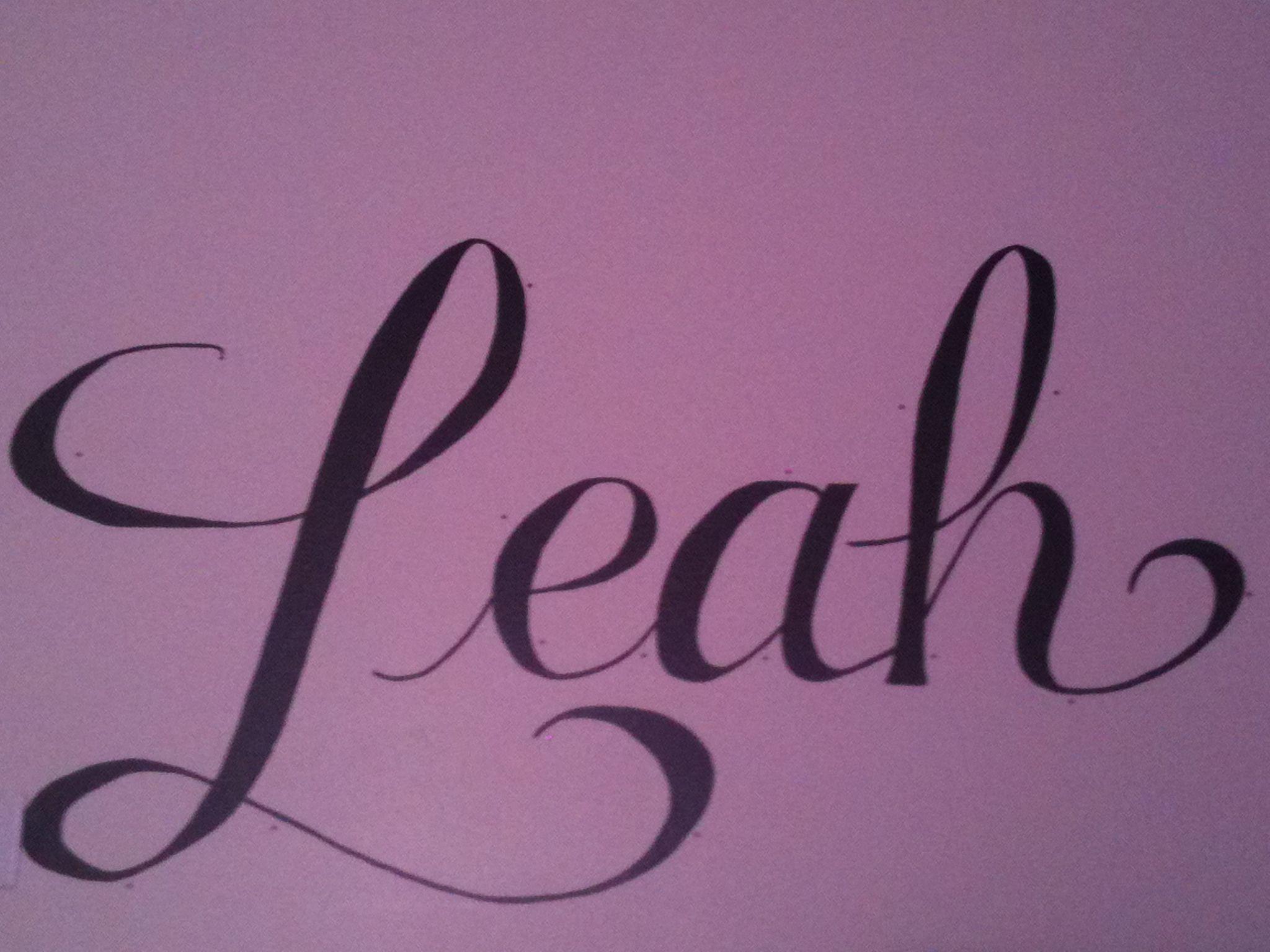 Name Name Leah! | Leah name, Name tattoos, Baby names