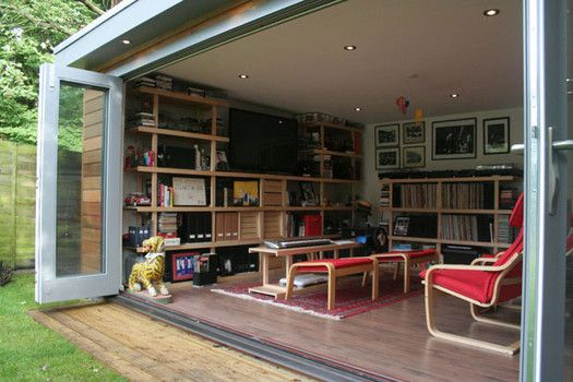 11 Reasons To Turn A Garden Shed Into Living Space