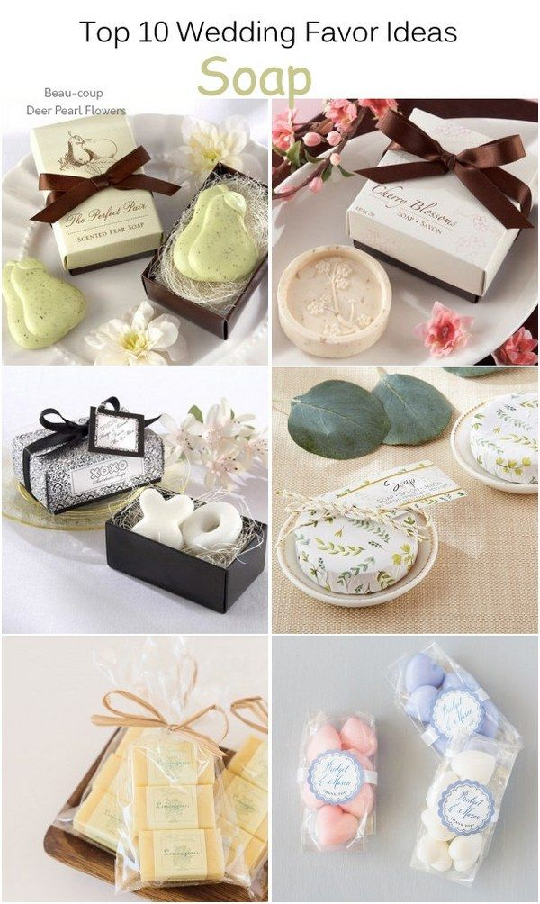 Top 10 Wedding Favor Ideas That Your Guests Will Actually Like