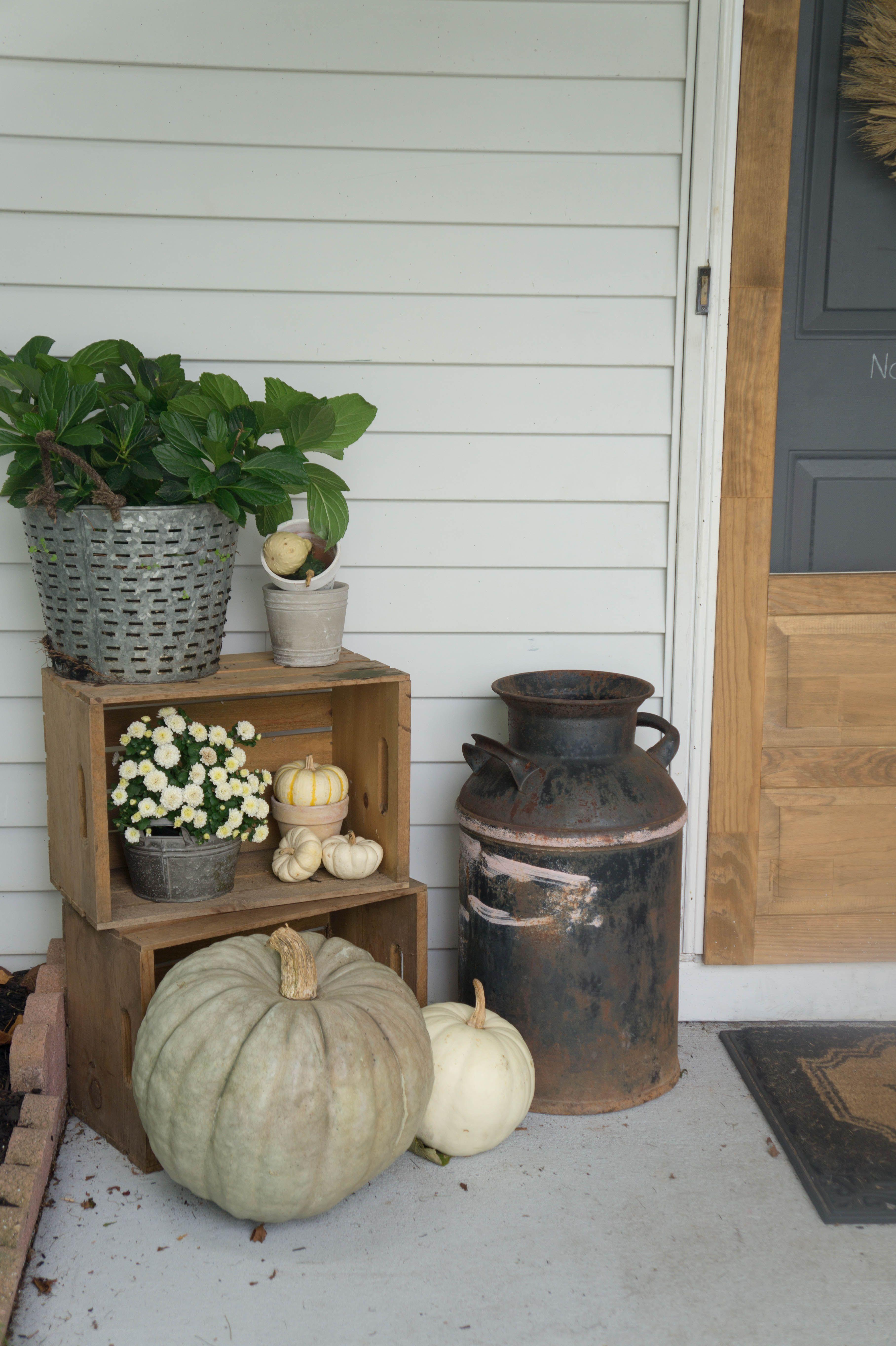Porch Ideas Fall Farmhouse Decor