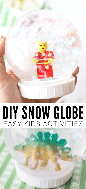 DIY Snow Globe For Kids -   19 diy Gifts for children ideas