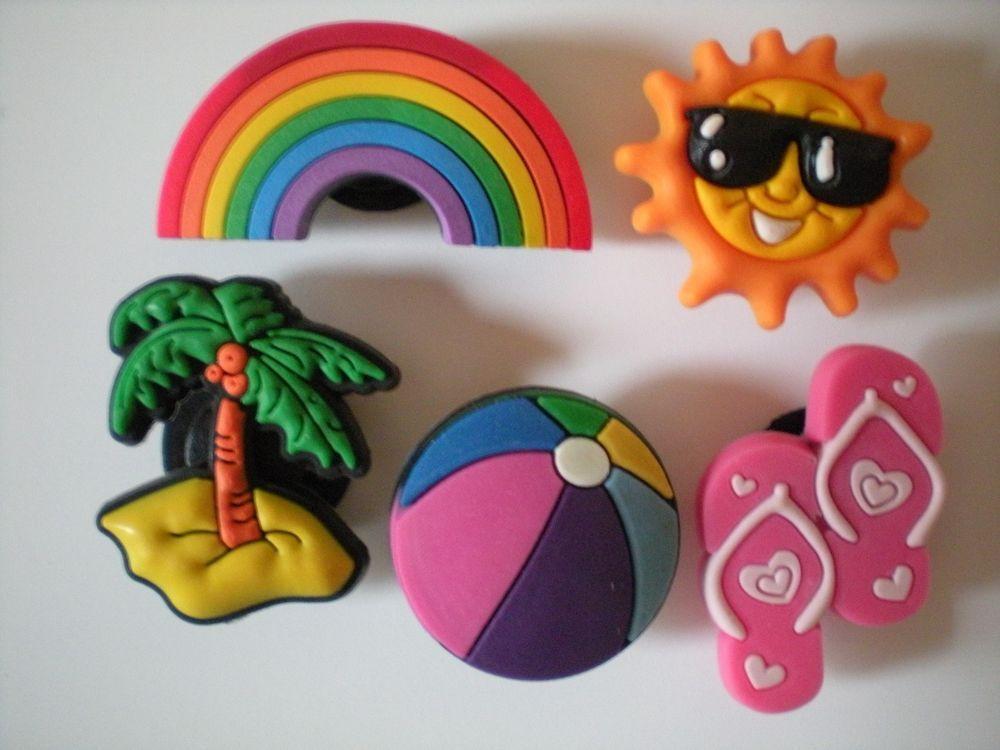 Clog Shoe Charms Button Plug Accessories Bracelet WristBand 4 Cats