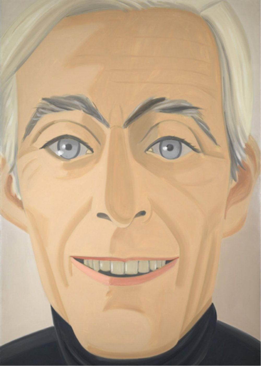 Alex Katz SelfPortrait  Art Portraits  Pinterest  Alex katz