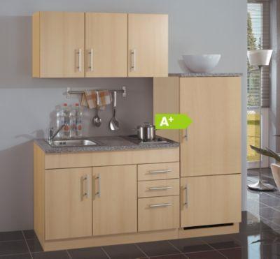 HELD Möbel Single-Küche Dallas 180 cm - Melamin Buche Nachbildung ... | {Single küche 24}