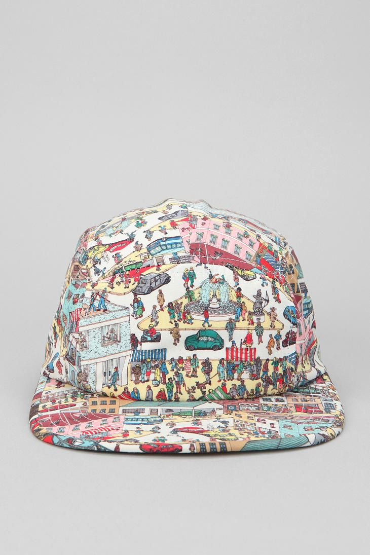 bde3ebddafe Urban Outfitters - Where s Waldo 5-Panel Hat