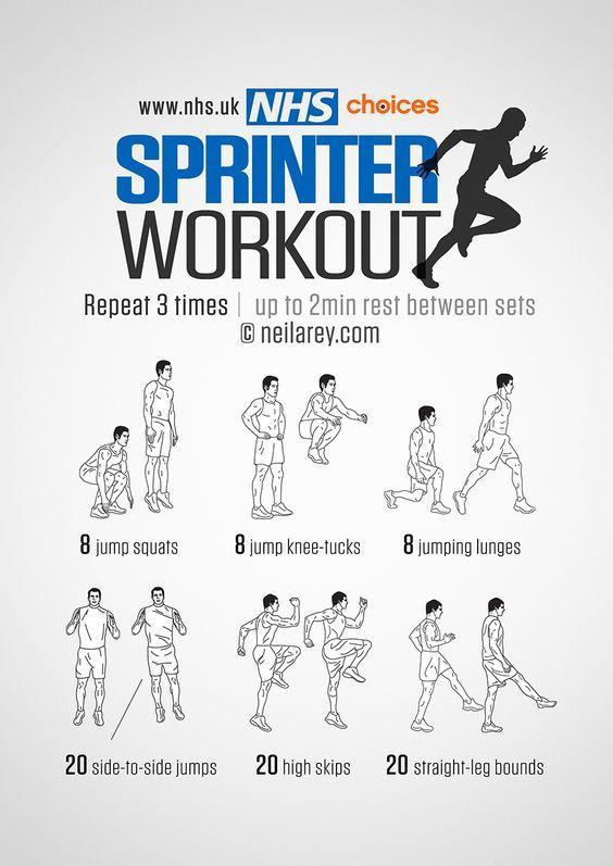 Sprinters leg workout