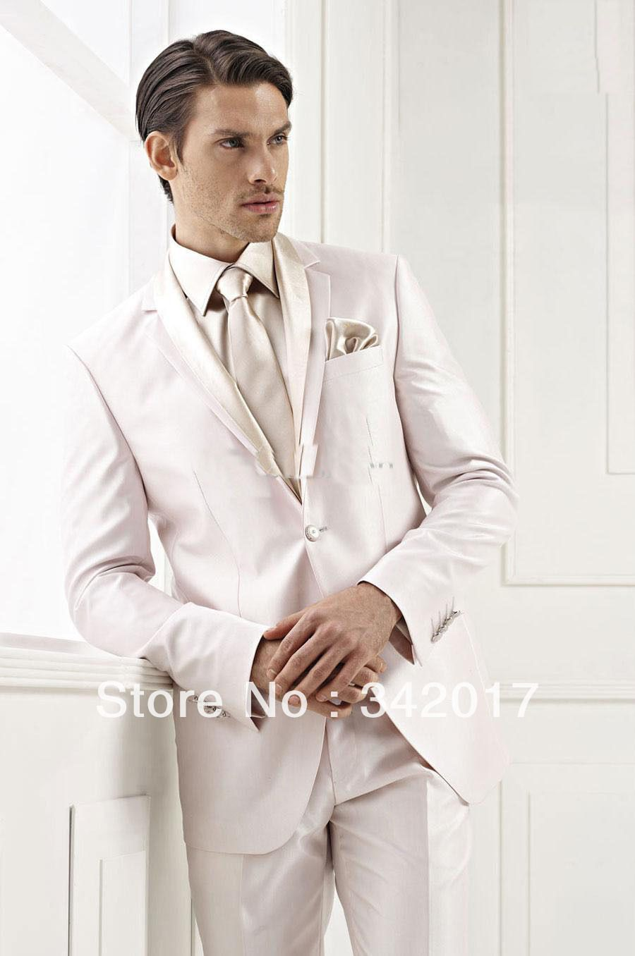 white and gold wedding tuxedos for groom - Google Search | Wedding