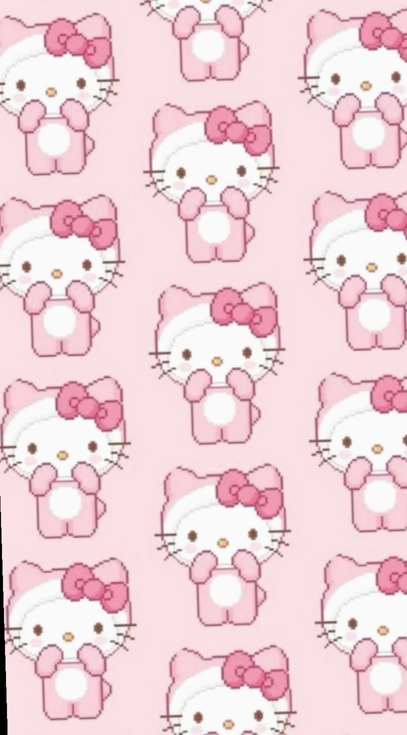 9 Cute Pink Wallpapers Hello Kitty Pink Hello Kitty Pink Wallpaper Hello Kitty Hello Kitty Wallpaper