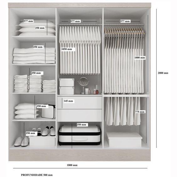 Come progettare la cabina armadio perfetta per qualunque for Progettare la camera