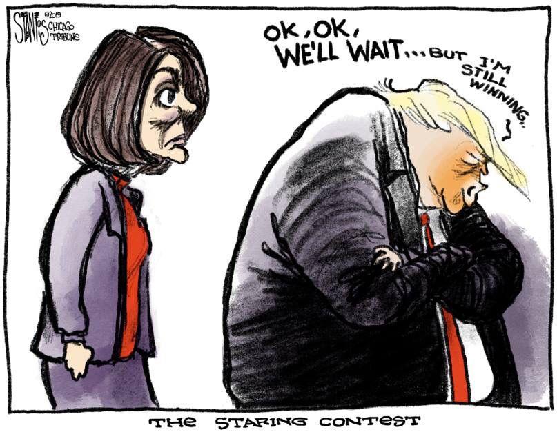 January, Editorial, Comic Strips, Donald Trump, Political Cartoons,  Politics, Comics