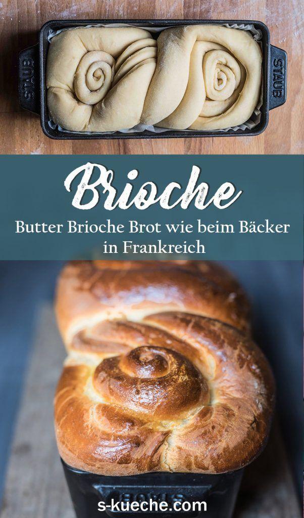 Brioche Russe - Butter Brioche Brot wie beim Bäcker in Frankreich