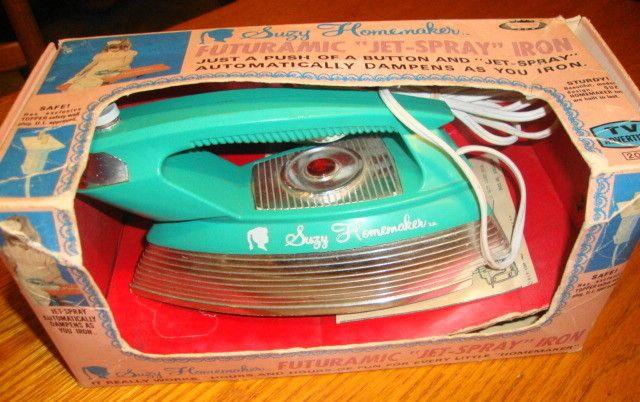 Suzy Homemaker Iron Mint in Box