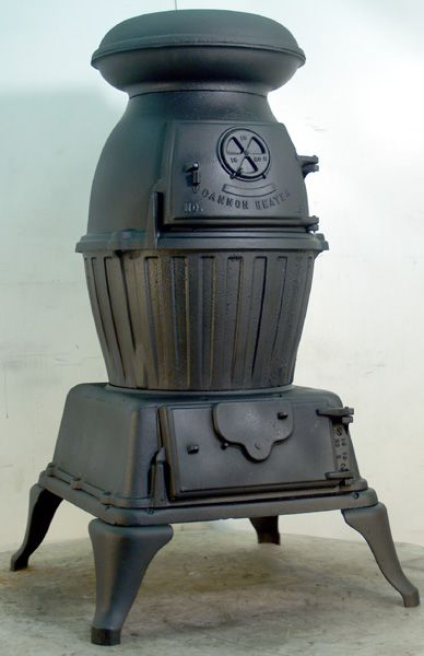 Pot Belly Stove Us Army Cannon Heater Pot Belly Amp Cast