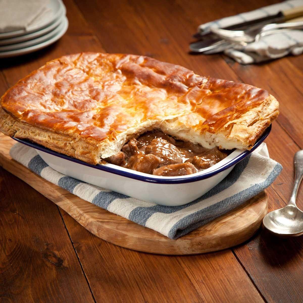 Steak Pie | Scottish Recipes in 2019 | Pie, Steak, Pie recipes