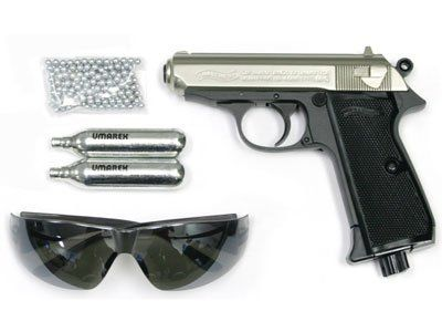 Walther PPK/S Silver Combo air pistol by Walther  $79 95