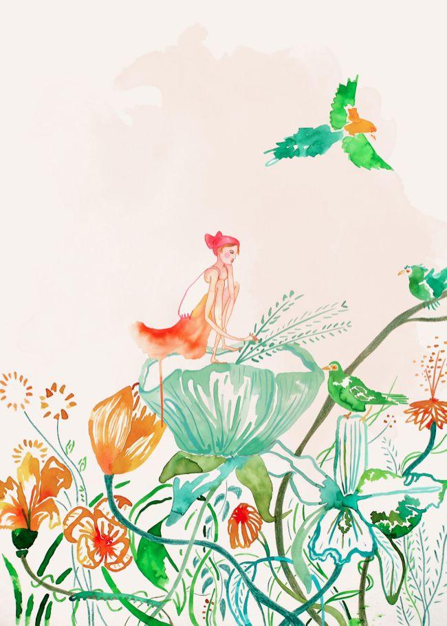 Lara Costafreda, illustrator from Barcelona