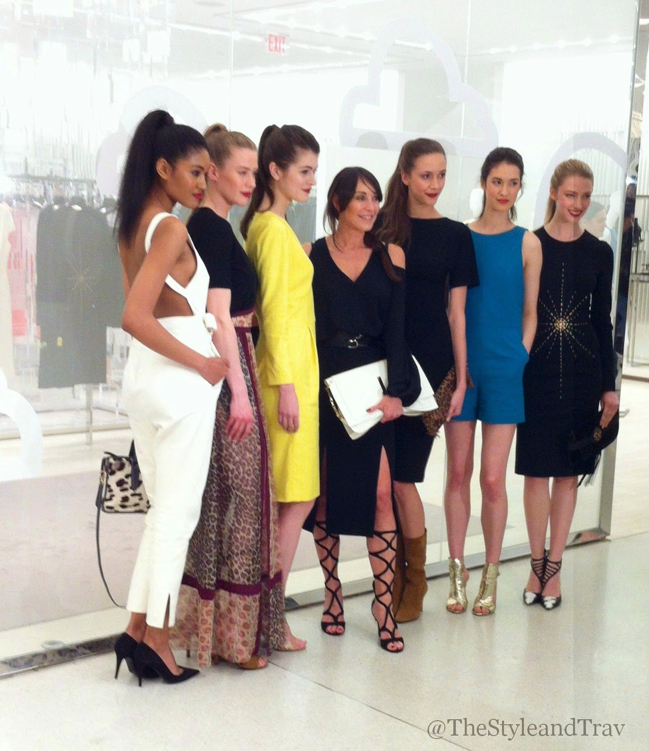 Tamara Mellon with Canadian Models.  The Style and Travel Journals