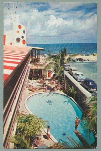 The jolly rodger swimming pool ft lauderdale mid century summer pool party pinterest for Hotels in fort william with swimming pool