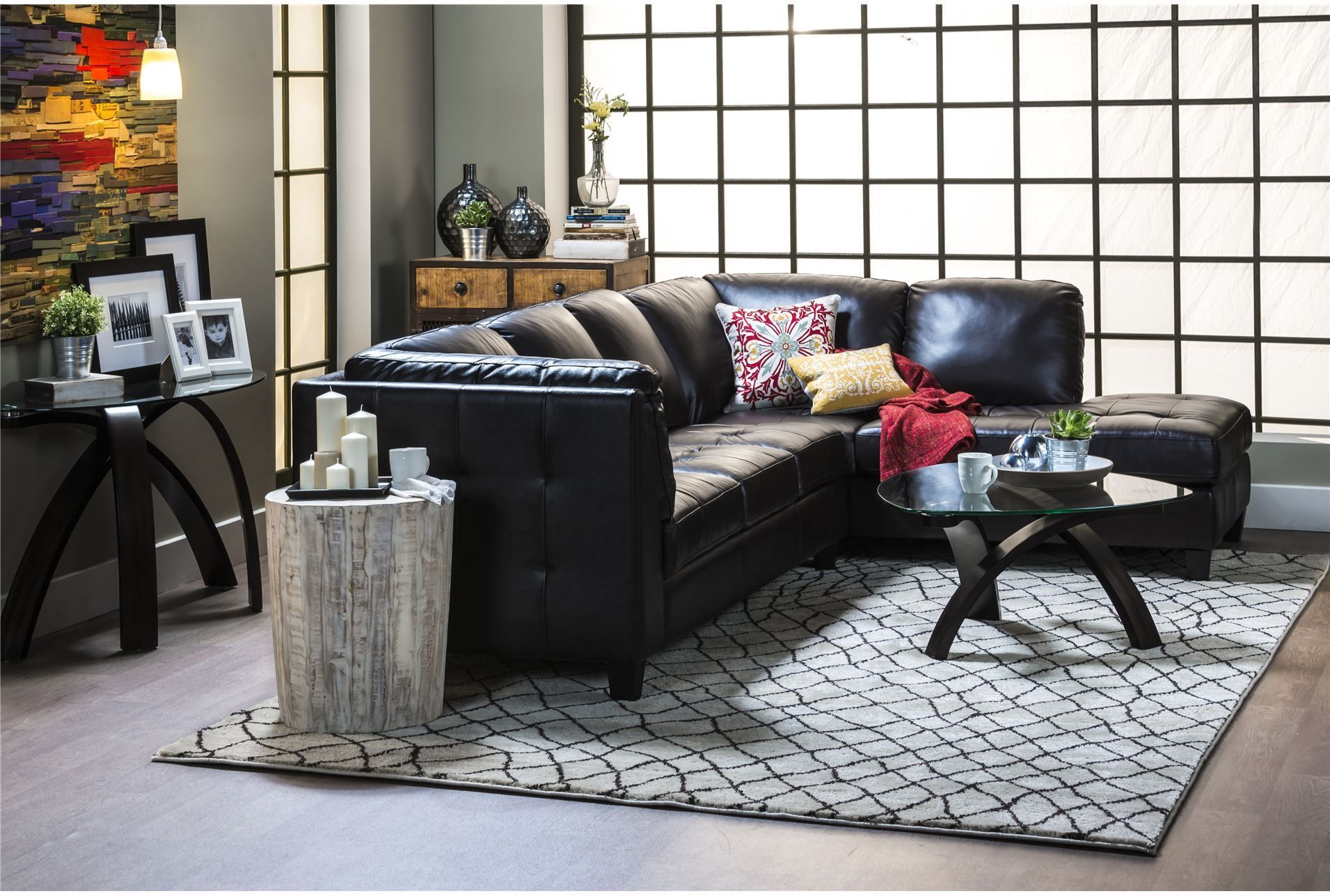Carlito 2 Piece Sectional W/Laf Chaise - Signature