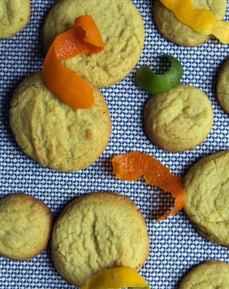 Christina Tosi S Citrus Cookies Milk Bar Recipes Momofuku Recipes Citrus Recipes