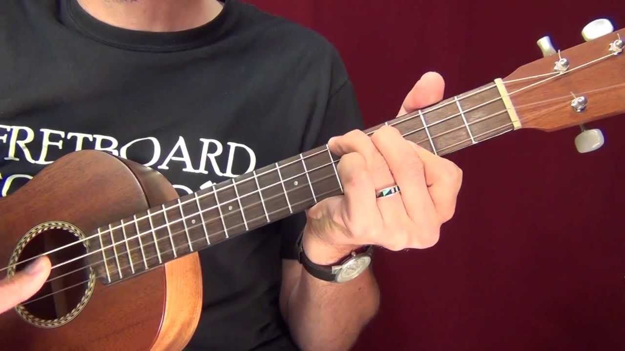 Baritone Ukulele Chord Building in C Major