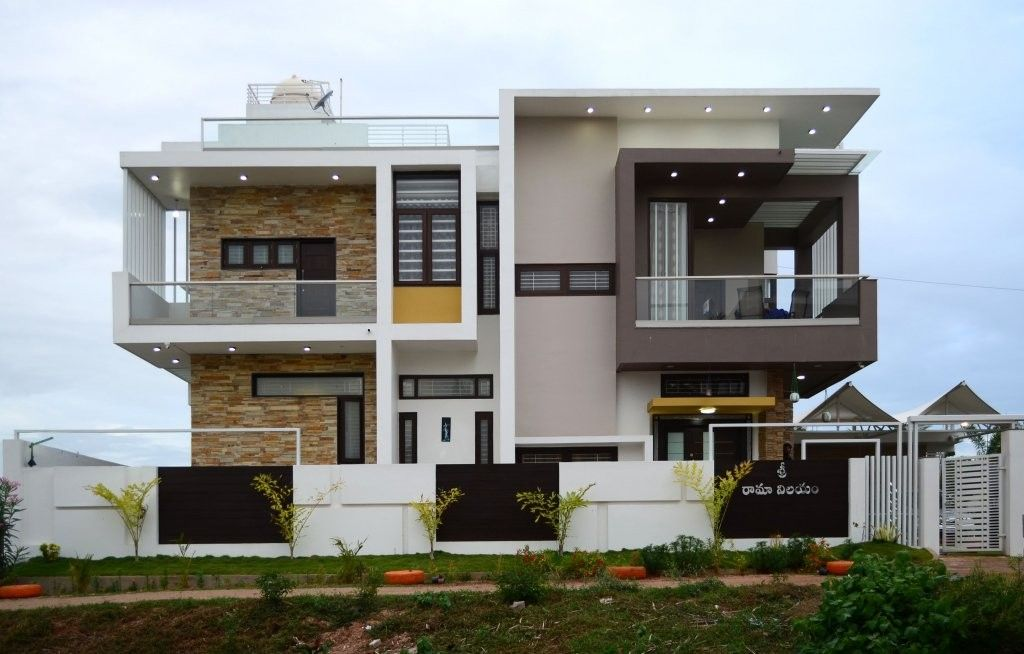 Luxury Houses Front Elevation Design | Contemporary house ...