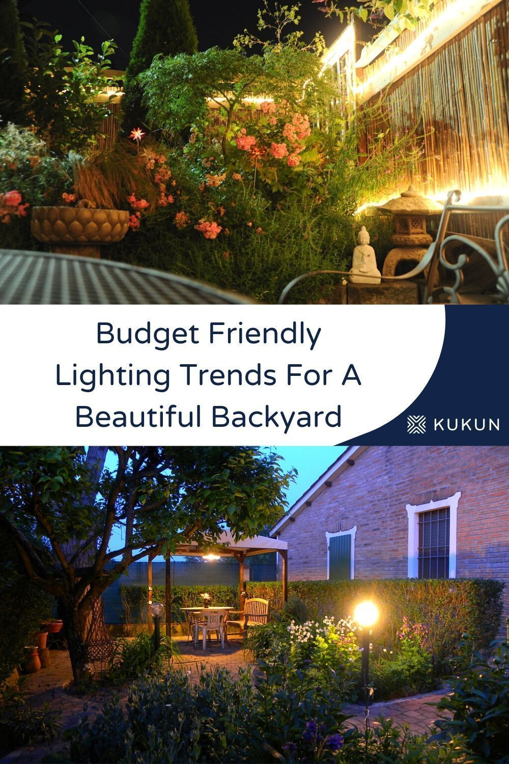 Backyard Lighting Trends To Try On A Budget In 2020 With Images Backyard Design