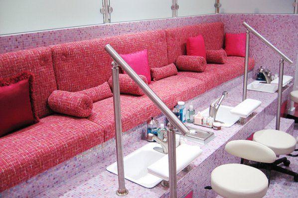Beautiful pedicure stations darlings divas pinterest - Diva salon and spa ...