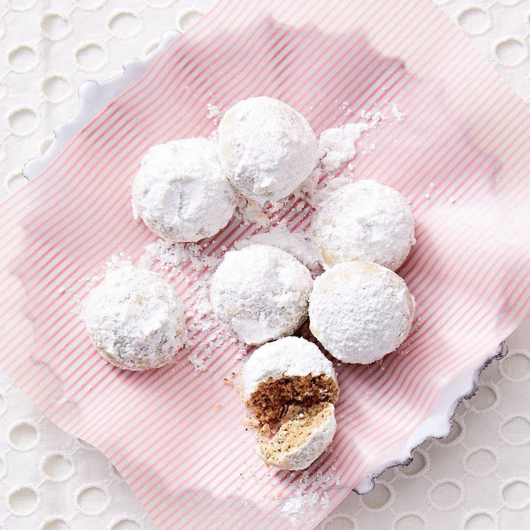 "Martha Stewart on Instagram ""These powdery Chai snowball"