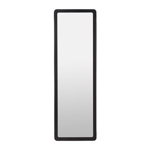 Grua Zrcadlo černá Tom Ikea Espejos Gruas