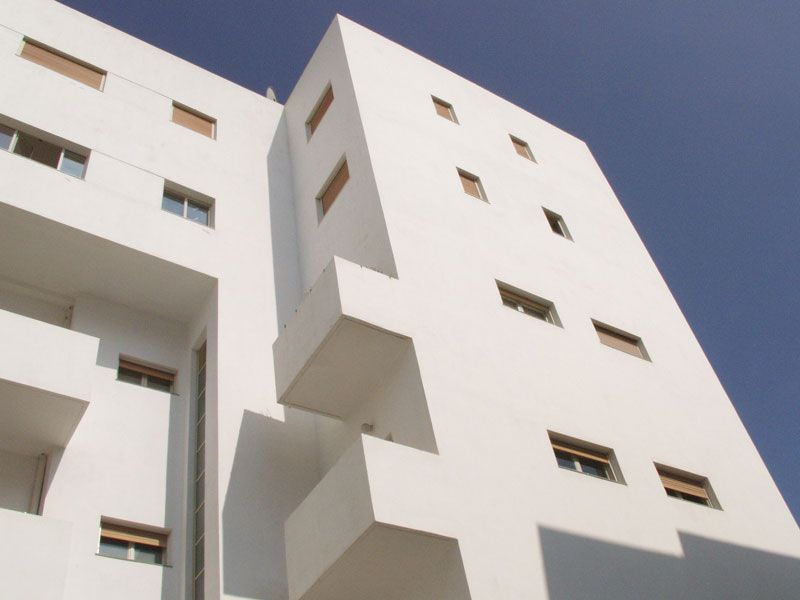 example of new bauhaus meets old bauhaus in tel aviv many of the
