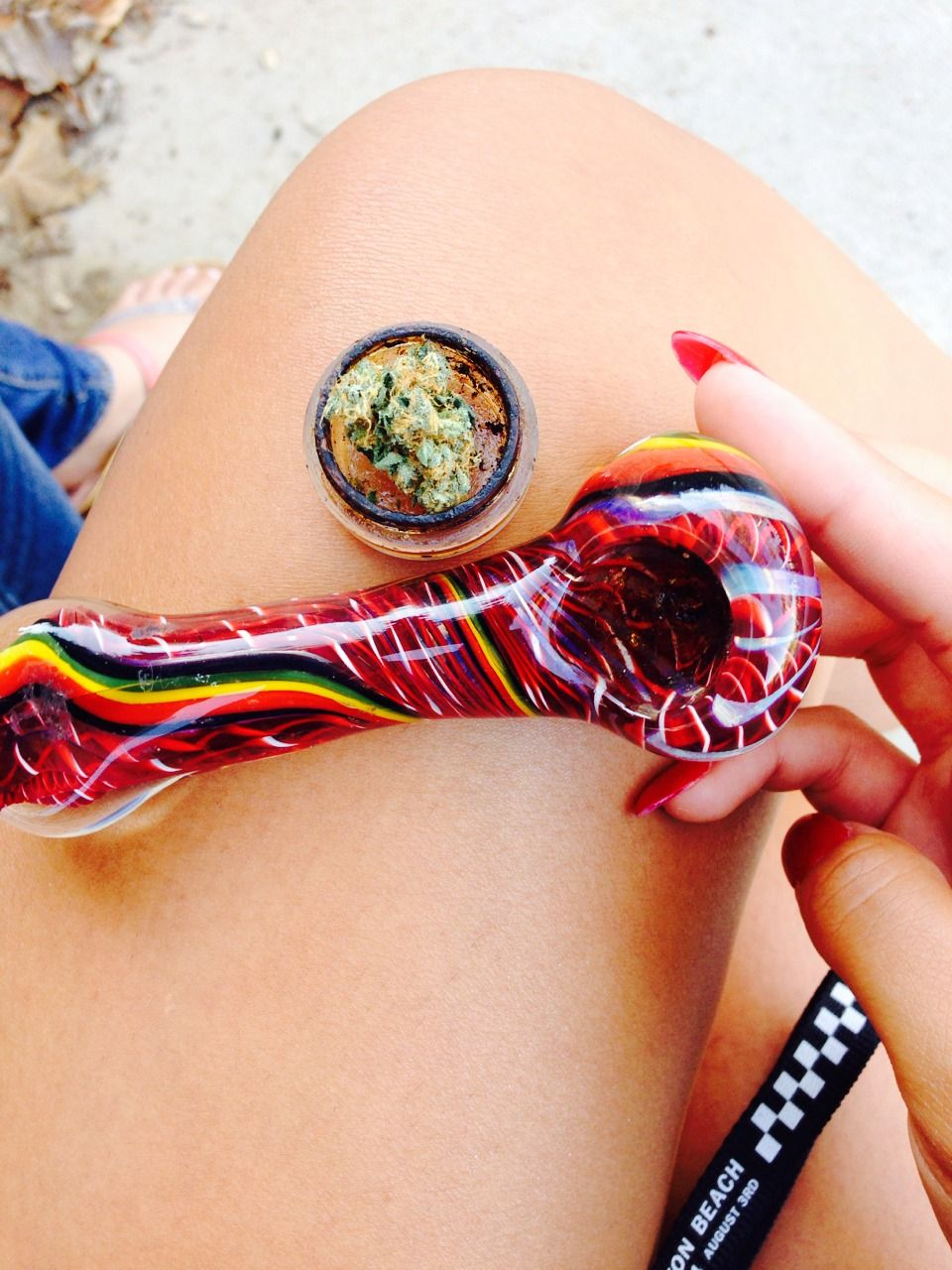 ... Colorful pipe!