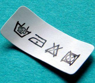 Rešpektovaním pracích symbolov chránime životnosť výrobku.