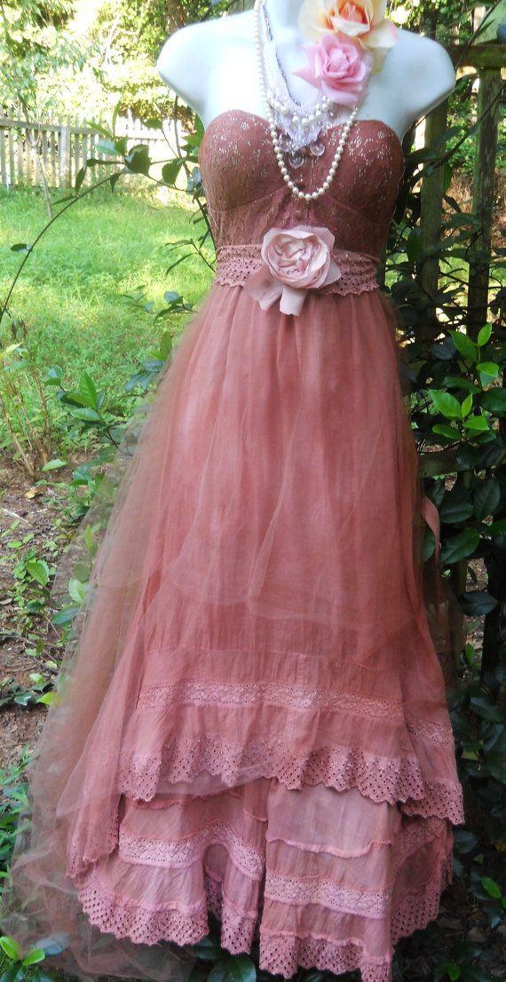 Excepcional Wedding Dress Etsy Colección de Imágenes - Colección del ...