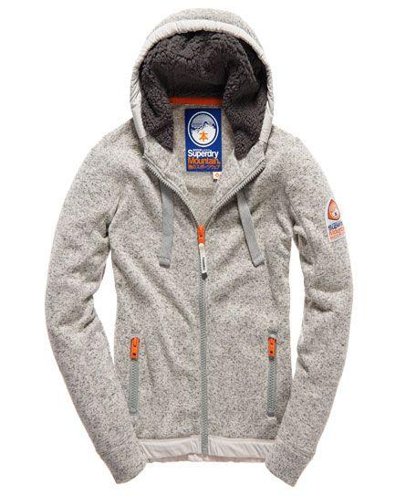 Superdry Men's Orange Label Mountain Zip Hood Sweat Jacket Storm Grey Grit | eBay