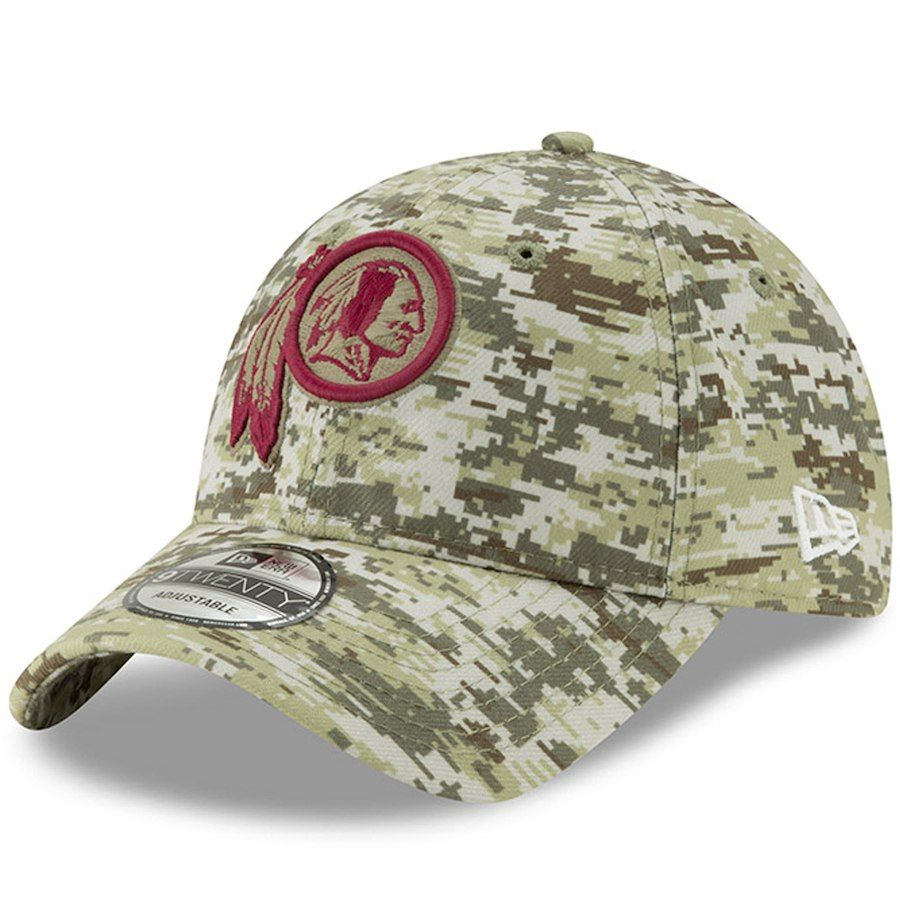 eb2254c3b Men s Washington Redskins New Era Camo Digi 9TWENTY Adjustable Hat ...