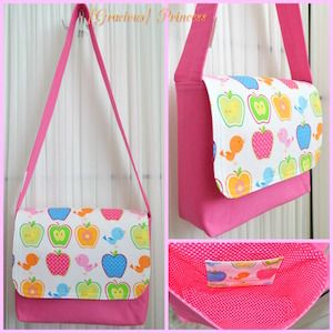 Good-To-Go Messenger Bag Pattern – two pretty poppets