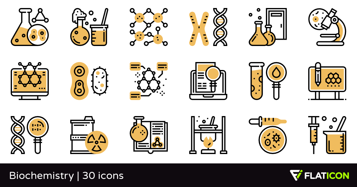 30 free vector icons of Biochemistry designed by Eucalyp