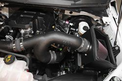 2015 2016 Ford F 150 2 7l Ecoboost With K N Air Intake System Gets