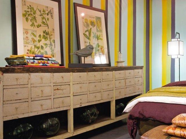 Le charme fou des meubles de métier - Elle Décoration