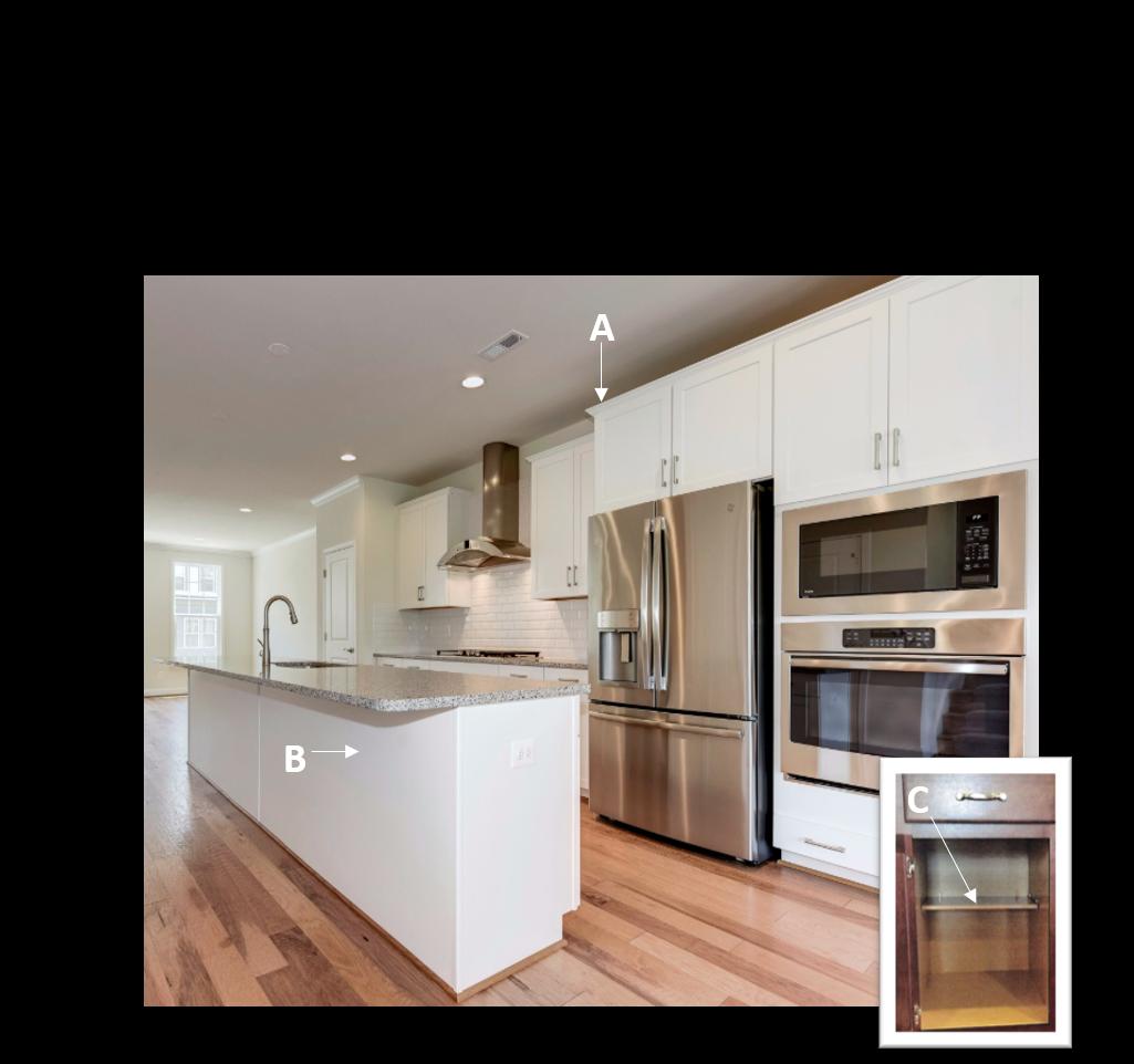 Gourmet Kitchen Cabinet Details | Cabinet detailing ...