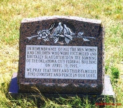 Oklahoma City Bombing Memorial Grave Pedia Find A Grave Cemetery