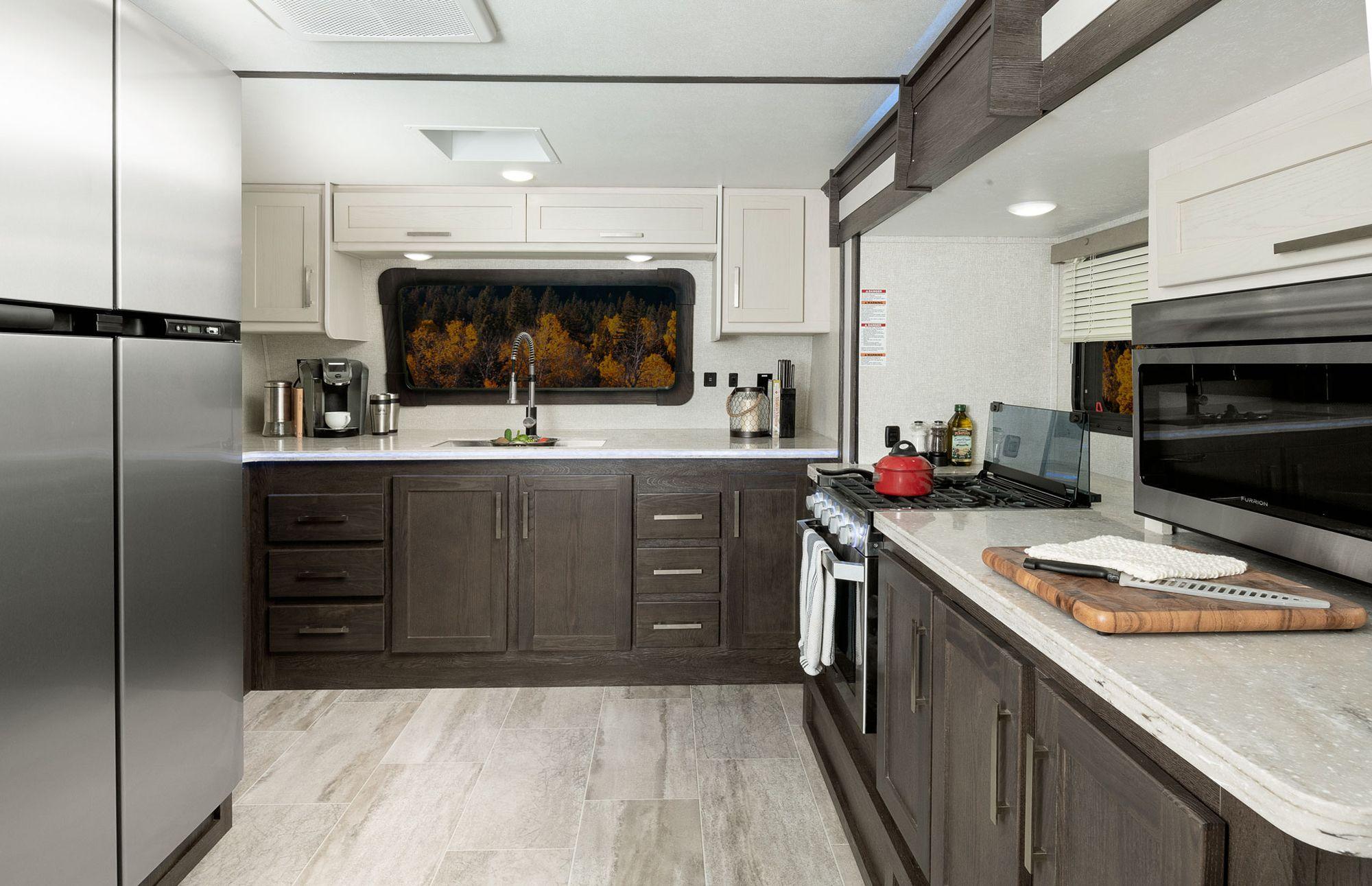 Keystone Raptor 427 Interior Fall 2019 Small House Living Rv