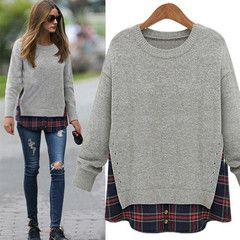 $26 for a Grey Crewneck Sweater | DrGrab